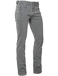 329887958e97d Brams Paris - Jeans Homme - Stretch - Longueur 36 - Danny - Gris