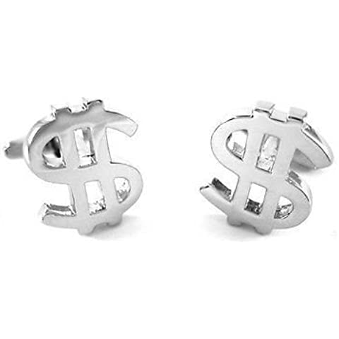 Simbolo del dollaro moneta Gemelli Denaro regalo di nozze