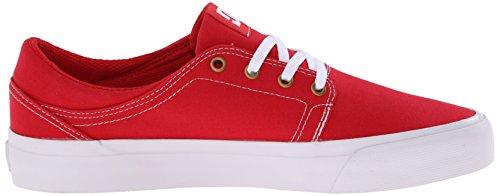 DC - Trase Tx M Shoe Frn, Sneaker basse Uomo Red/White