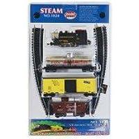 Model Power 0-4-0 Starter Set Pennsylvania HO scale Train Set with Piko Nickel Silver Track & Controller