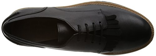 Clarks Griffin Mabel, Brogues Femme Noir (Black Leather)