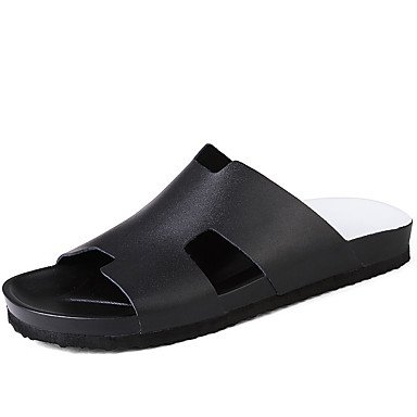 Leather Slippers & Primavera Estate Comfort Outdoor casual Athletic Tallone piano Uomo increspature di Pentecoste sandali US7 / EU39 / UK6 / CN39
