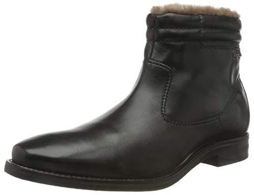 bugatti Herren 311818404100 Klassische Stiefel, Schwarz, 46 EU