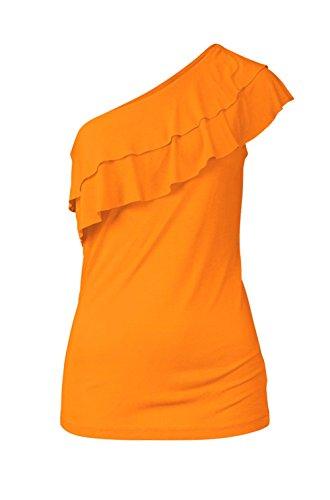 BUFFALO Marken-Shirt orange Größe 36 (Damen T-shirt Buffalo)
