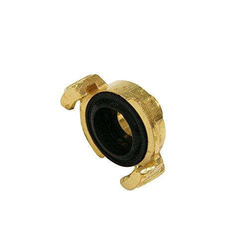 Xclou Raccord fileté pour tuyau d'arrosage - Joint d'étanchéité pour tuyau - Raccord fileté mâle en laiton 19 mm