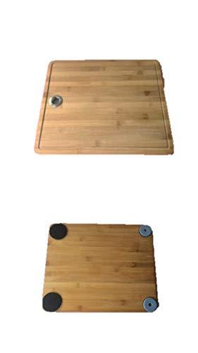 Gleitbrett Holz-Gleiter Untersetzer aus Massivholz für Den Thermomix TM5 / TM31 und Weiteren Geräten
