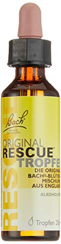 Bach Original Rescue Tropfen alkoholfrei 20 ml