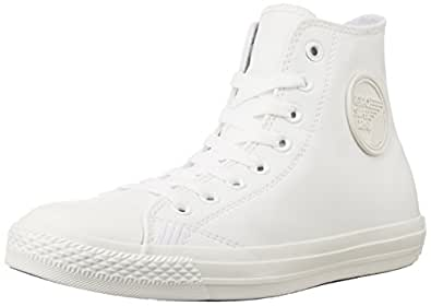 Superdry Men's Retro Sport Leather Like High White and White Sneakers - 12 UK