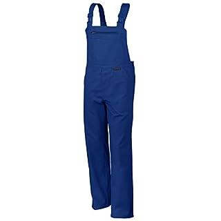 Qualitex Arbeits-Latzhose BW 270 - Größe: 48 - kornblau