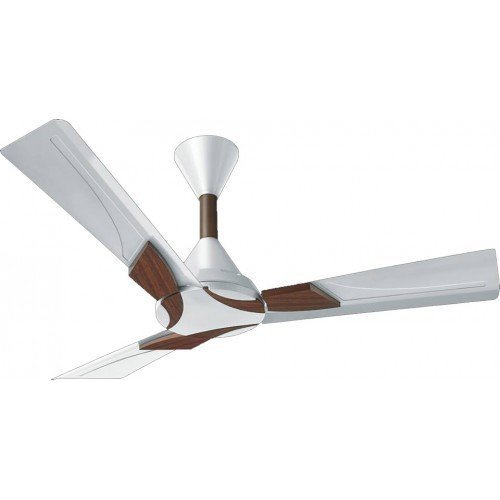 """Orient Electric Wendy Ceiling Fan Pearl White Walnut 48"""" 1200mm (Pack of 2)"""