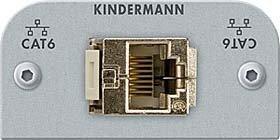Kindermann Anschlussblende 7441000526 CAT6 Genderchanger Konnect Alu;Konnect flex 45 click Multi-Einsatz/Abdeckung für Daten- und Kommunikations-Anschlusstechnik 4021565026430