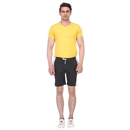 TeesTadka Men's Cotton Shorts for Men Value Pack Combo Offers for Men Pack of 1  available at amazon for Rs.197