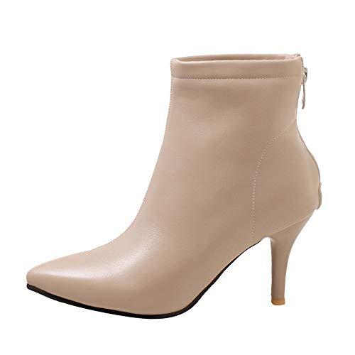 Tefamore Botas de Mujer, Botines para Adulto, Zapatos Otoño/Invierno 2018, Moda Fiesta Elegante Tacón...
