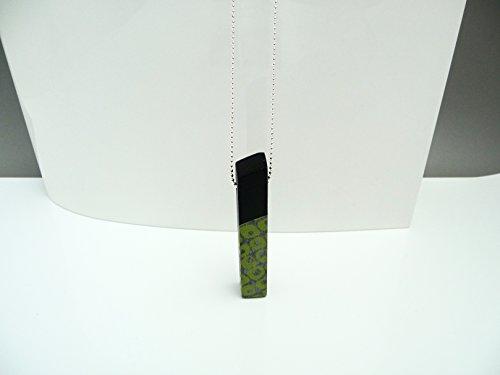 Green Sixties Silber Kugelkette Unikat in Geschenkbox ()