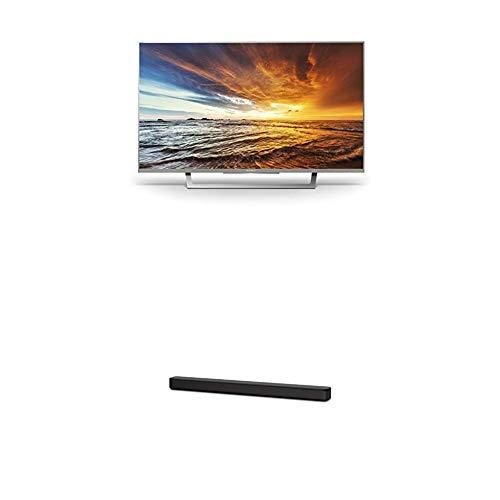 Sony KDL-32WD757 80cm (32 Zoll) Fernseher (Full HD, HD Triple Tuner, Smart-TV) Plus HT-SF150 2-Kanal Soundbar (Verbindung über HDMI, Bluetooth und USB) Schwarz