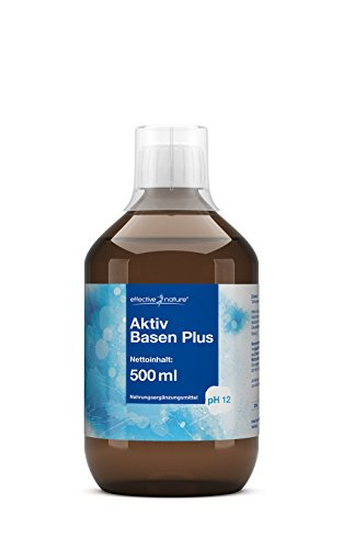 effective nature Aktiv Basen - Sehr hoher pH-Wert (12) - 500 ml