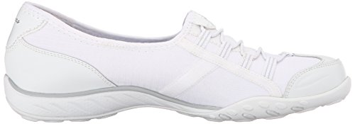 Skechers Breathe-easy allure, Baskets Basses femme Blanc - Blanc (wht)