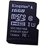 Kingston - SDC10G2/16GB - Carte MicroSD - 16 Go - Adaptateur SD