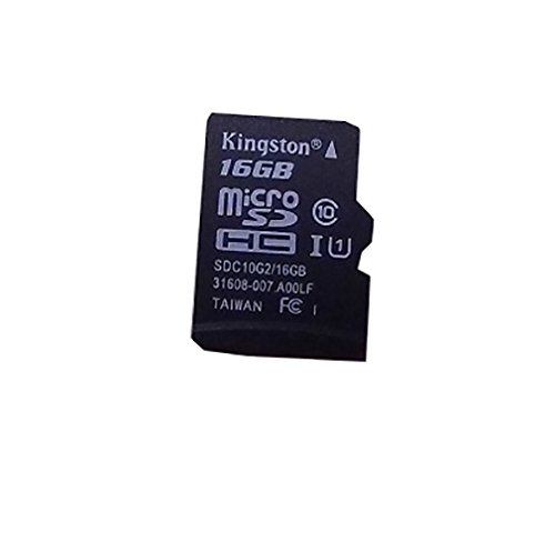 Kingston Scheda di memoria 16GB microSDHC + Adapter