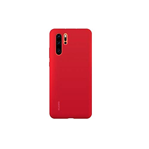 Huawei Cover Silicone Case P30 Pro, Rot - Red Pro Guard Case