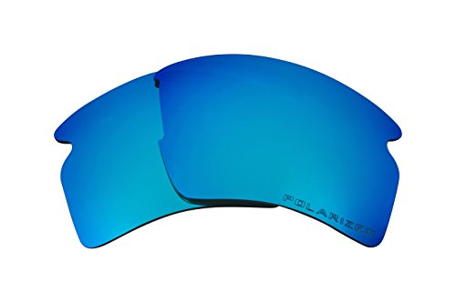 Seek Optics Beste Ersatzgläser for Oakley FLAK 2.0 XL Blau Verspiegelte