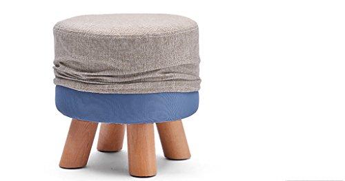 Dqmsb sgabello basso in legno massello panca per scarpe panca in