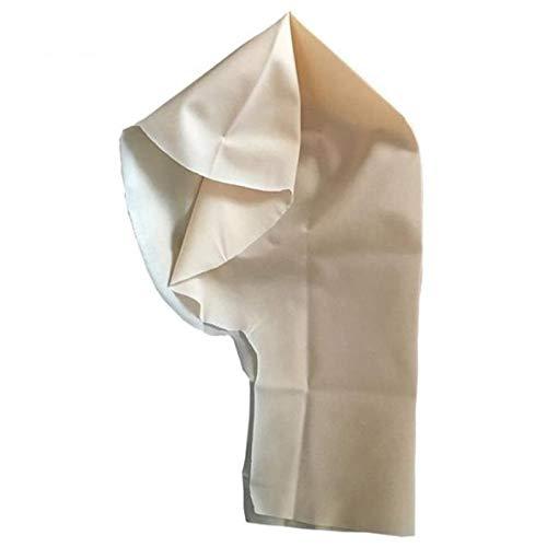 Wulihong-mascherareunisex parrucca calva in lattice protezione dei capelli hairnet stretch costume di halloween puntelli cosplay maschera in lattice forniture per novità