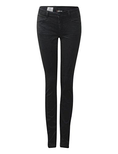 Street One Damen Straight Jeans 371126 Iowa Schwarz (Black Basic Wash 11227)