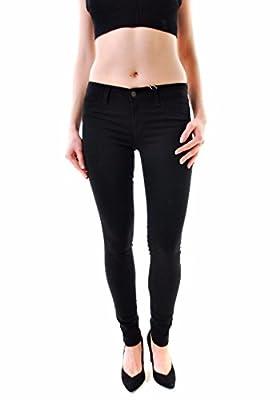 J BRAND Women's Hewson Super Skinny Jeans Black 901O241