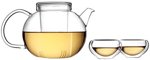 Tea Soul B6021837 Service Á Thé Théière et 6 Tasses Verre