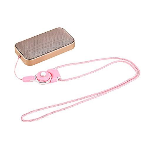 HPTCLYYX Bolsillo portátil Inalámbrico Bluetooth Altavoz Mini Pequeño Metal Música Caja de...