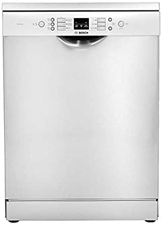 Bosch 12 Place Settings Dishwasher (SMS66GI01I, Silver Inox)