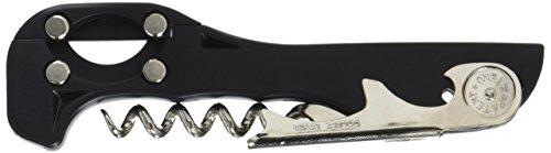 Franmara 2037-bu Boomerang Two Step Soft-Touch-Kellner Korkenzieher mit Folienschneider