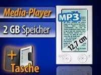 "eLyricon eBook-Reader & Media-Player ""EBX-500.TFT"" 12,7cm/5"" Farb-TFT"