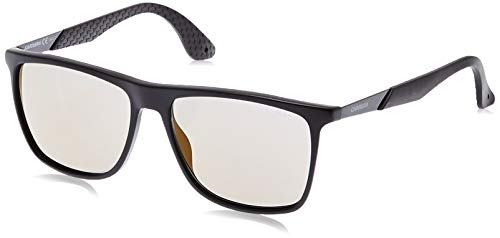 Carrera 5018/s ct mhx occhiali da sole, nero (mat black black/copper grey speckled), 56 uomo