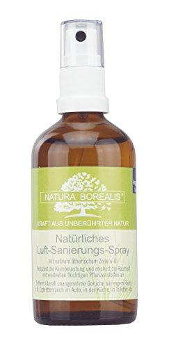 Natürliches Luft-Sanierungs-Spray | 100 ml Raumspray | Zedern-Nadel-Öl | NATURA BOREALIS