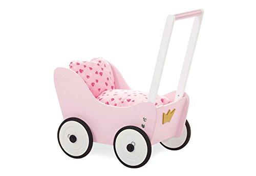 Pinolino 262606 Puppenwagen Prinzessin Lea, 55 x 35 x 58 cm