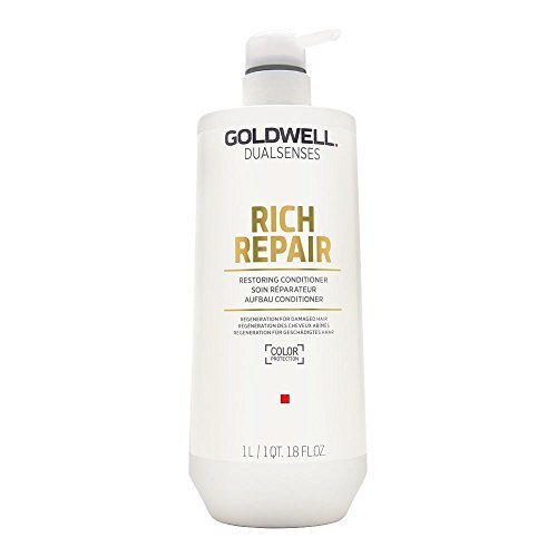 Goldwell Dualsenses Rich Repair Restoring Conditioner, 1er Pack (1 x 1 l) -