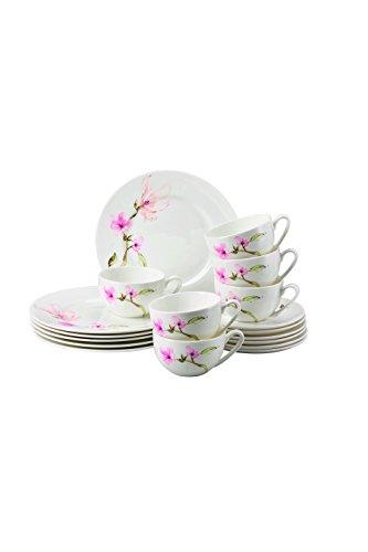 Rosenthal 61040-414124-28429 Jade Magnolie Kaffee-Set 18-teilig