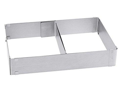chg 9754-00 Kuchen-/Pizzarahmen mit Teiler / Höhe: 5,0 cm / Länge und Breite variabel