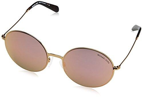 Michael Kors Damen KENDALL II 10244Z 55 Sonnenbrille, Gold/Goldmirr0R,