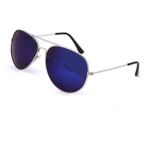 UV Protected Stylish Aviator Sunglasses for Girls and Boys ( Blue-Mercury ) ( YS-AVSG-07 )  available at amazon for Rs.199