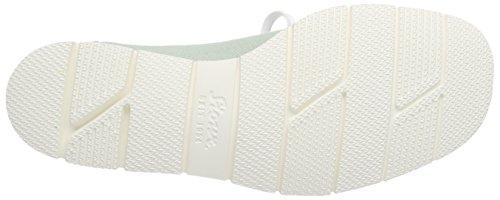 SiouxGrashopper-D-141 Cotton-Print - Mocassini Donna Verde (mint)