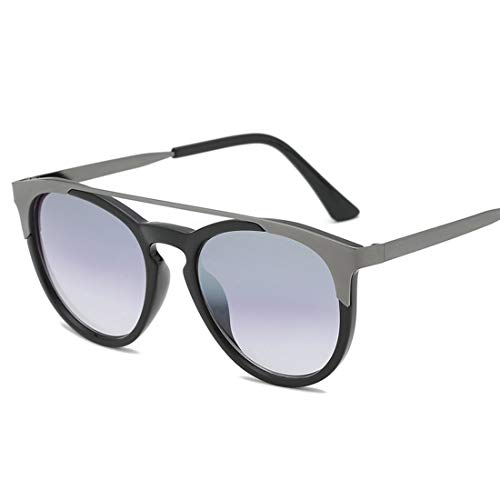 Lightpurple Roubd Sonnenbrillen Kunststoffrahmen für Männer Frauen Sonnenbrillen für Männer Radfahren Laufen Fahren Angeln (Color : A)