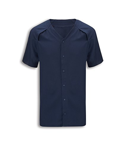 Alexandra stc-nu322sn-xs Patienten Schlafanzug Top, Uni, 100% Polyester, Größe: XS, Sailor Navy (Tool Schlafanzug)