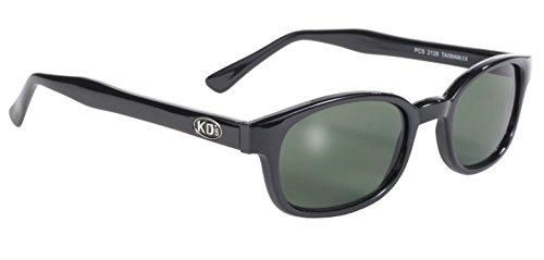 echte Sonnenbrillen KD's dunkelgrün 2126 - bikers