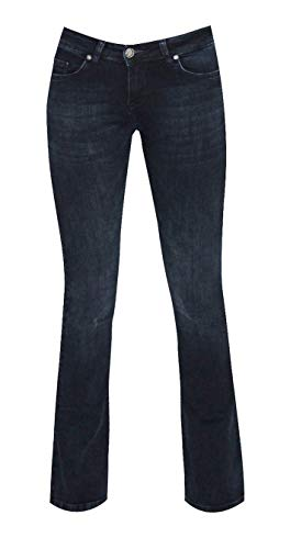 Zhrill Damen Jeans Hose Daffy Flare Blue Flare Blue Denim
