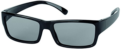 Grundig passive 3D-Brille, Polarisations-3D-Technologie, 2er-Pack, schwarz