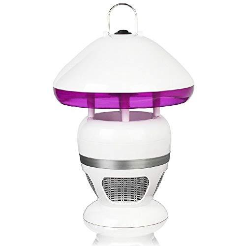 HXCLYQ UV Moskito Lampe 3 Watt Wiederaufladbare Bug Zapper Mit Led-leuchten Indoor Outdoor Schlafzimmer Baby Zimmer Küche Büro (weiß