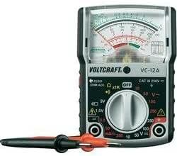 Voltcraft Vc 12 A By Voltcraft Analog Multimeter Elektronik